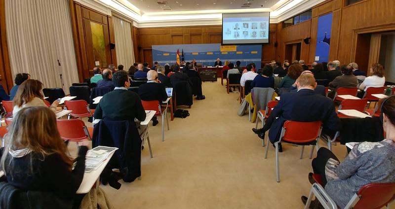 Acto de apertura del Seminario 'La construcción de la Agenda Urbana Española en el marco de otras políticas urbanas nacionales en Europa'.