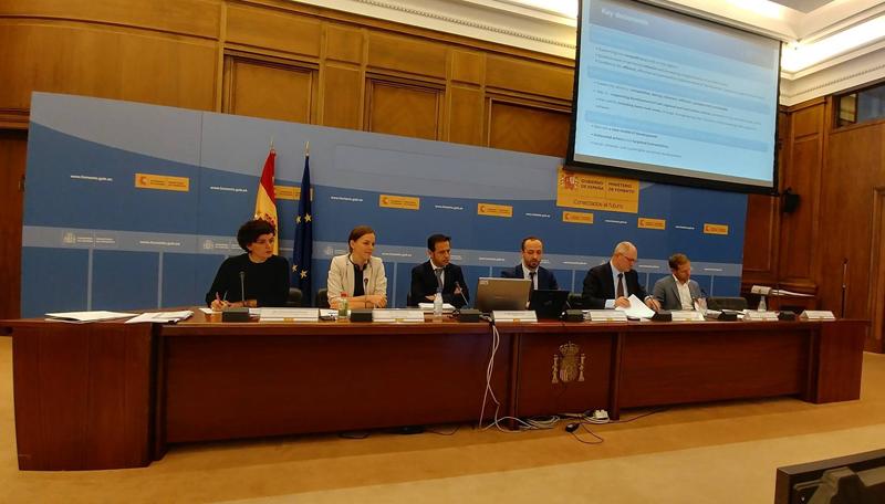 Presentaciones y ponencias con la participación de representantes de diferentes países europeos que presentaron sus agendas urbanas nacionales.