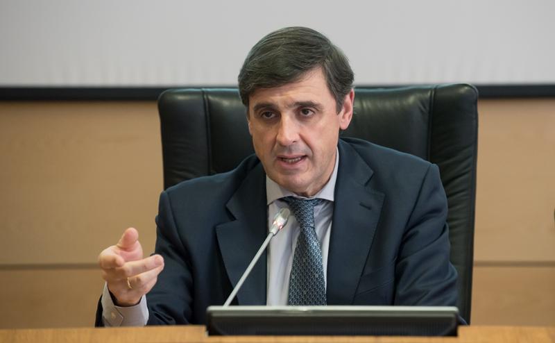 Enrique Martínez Marín, coordinador del Plan Nacional de Ciudades Inteligentes presentó el nuevo Plan Nacional de Territorios Inteligentes.