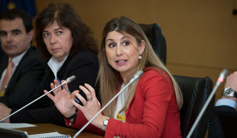 Lola Ortiz, subdirectora general de Desarrollo Urbano de la Dirección General de Fondos Europeos del Ministerio de Hacienda y Función Pública.