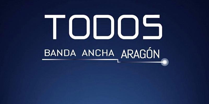 El objetivo marcado por el Gobierno de Aragón es que todos los municipios, incluidos los de las denominadas 'zonas blancas', dispongan de conexión de alta velocidad en 2019.