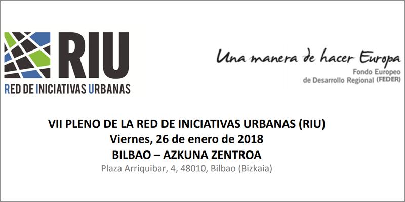 El séptimo pleno de la Red de Iniciativas Urbanas está abierto a todas las personas interesadas y se celebra en Bilbao.