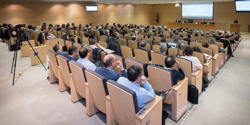 Cerca de 200 profesionales asistieron a la presentación del IV Congreso en SESIAD.