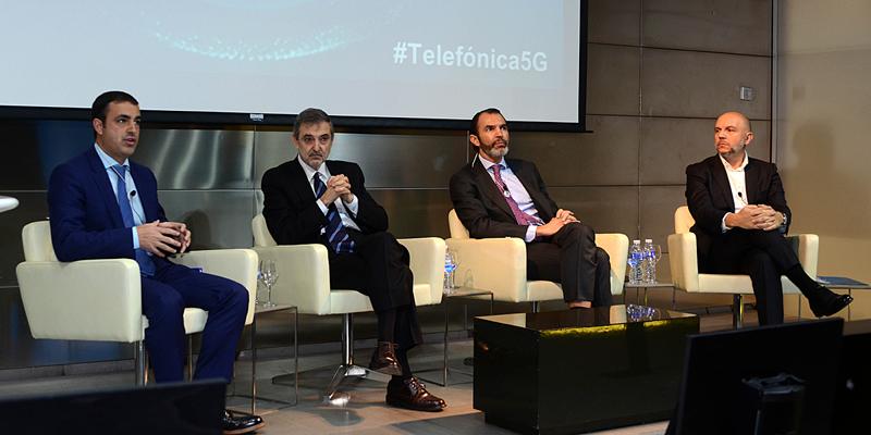 Presentación del programa Ciudades Tecnológicas 5G con el que Telefónica desplegará la red 5G y sus capacidades en Segovia y Talavera de la Reina a partir de este año.