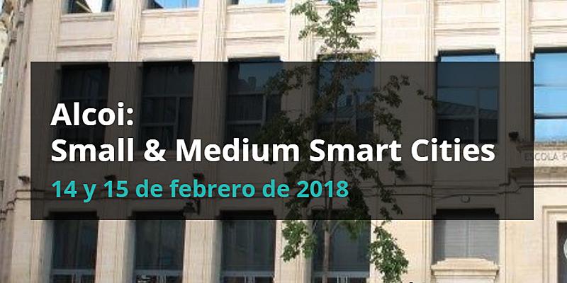 """El congreso """"Alcoi: Small & Medium Smart Cities"""" tratará temas como movilidad sostenible, eficiencia energética y tecnología aplicada a las pequeñas y medianas ciudades."""