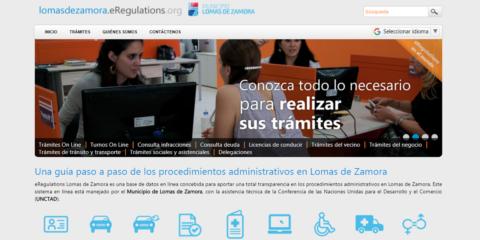Simplificación normativa: primer municipio en implementar herramientas electrónicas de trámites en línea e-Regulations y e-Registrations (UNCTAD, ONU)