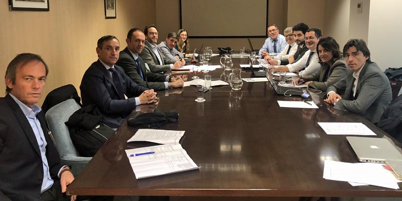 Reunión del CTN 178 'Ciudades Inteligentes' el pasado 14 de febrero en la Secretaría de Estado para la Sociedad de la Información y la Agenda Digital.
