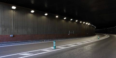 Una solución de iluminación inteligente para túneles proporciona ahorros energéticos del 60%