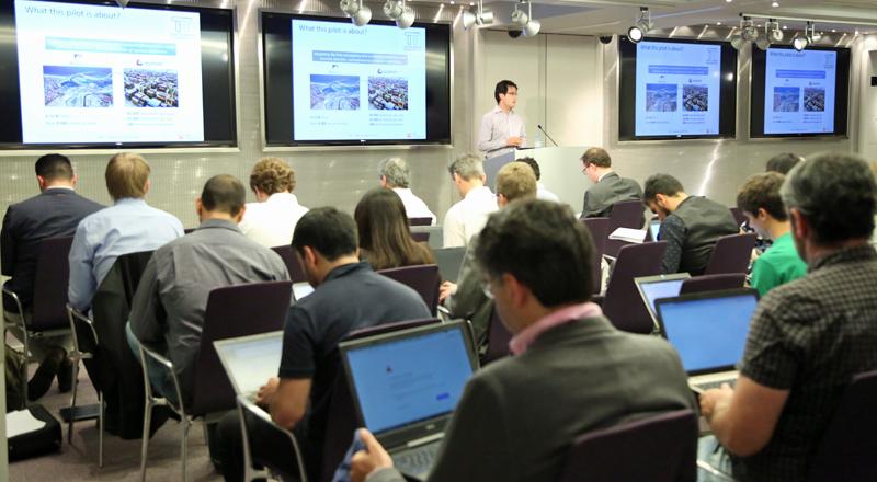 Reunión de trabajo del proyecto Transforming Transport, que está desarrollando 13 pilotos, cuatro de ellos en España.