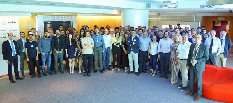 Asamblea de miembros del consorcio Transforming Transport el pasado verano.