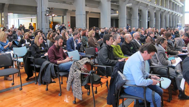 Más de 200 profesionales, asociaciones y empresas participaron en 'Meet-Up Madrid' de Reinventing Cities.