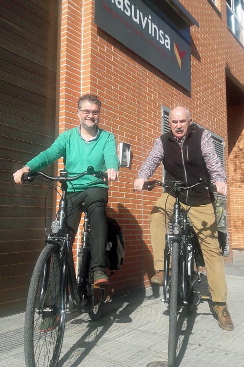 El objetivo es que los fomentar el transporte sostenible mediante el uso de bicicletas eléctricas en desplazamientos cortos por Pamplona.