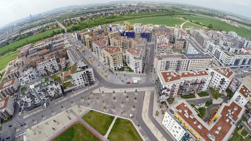 Aspern, la pequeña ciudad junto a Viena, concebida como una smart city desde cero.