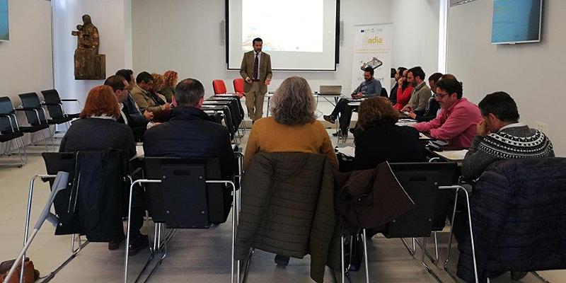 Una de las reuniones de los ocho grupos motores que conforman la Red de Agentes de Desarrollo Inteligente de Andalucía (Radia).