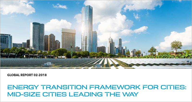 Estudio DNV GL 'Marco de transición energética para las ciudades. Las ciudades medianas lideran el camino'.