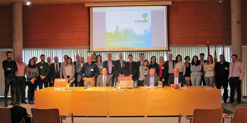 Foto de familia del Comité Técnico de la RECI reunido en el Ayumtamiento de Rivas Vaciamadrid.