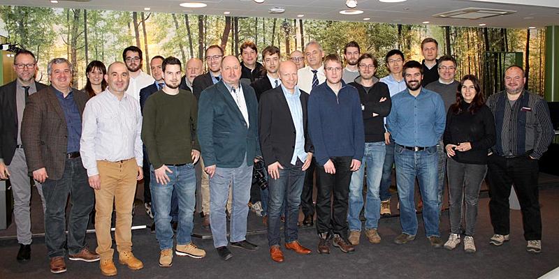 Miembros del consorcio del proyecto europeo Enact, que desarrollará la próxima generación de sistemas de IoT basada en el concepto DevOps.