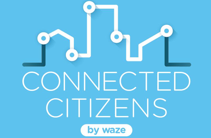 El programa 'Connected Citizens' está impulsado por la comunidad de conductores Waze que ha generado una red de intercambio de datos de tráfico gratuita y públicamente disponible para mejorar la información en tiempo real sobre tráfico.