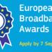 Abierta la convocatoria de los 'European Broadband Awards 2018' para proyectos de despliegue de banda ancha