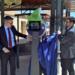 Un cargador smart city en el patio de la Universidad Católica de Murcia