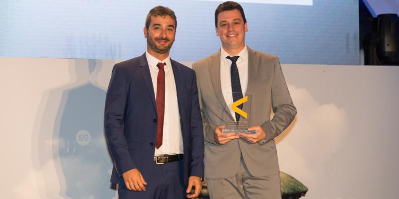 El responsable de Modernización de la Diputación de Valencia recogió el galardón de la edición XX de los Premios y Noche de las Telecomunicaciones de Valencia por la plataforma de ciudades inteligentes 'Conecta Valencia'.