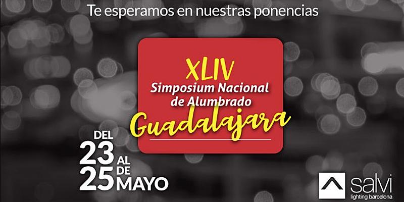 El XLIV Simposium Nacional de Alumbrado del Comité Español de Iluminación en Guadalajara se celebra entre este miércoles y el viernes.