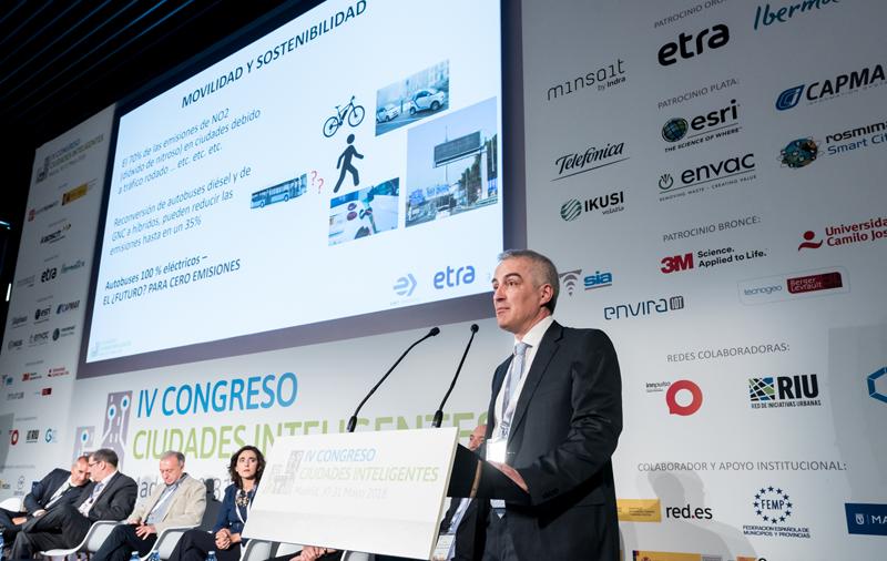 Antonio Marqués, director de Tecnología ETRA I+D, cerró el tercer bloque de ponencias del Congreso.