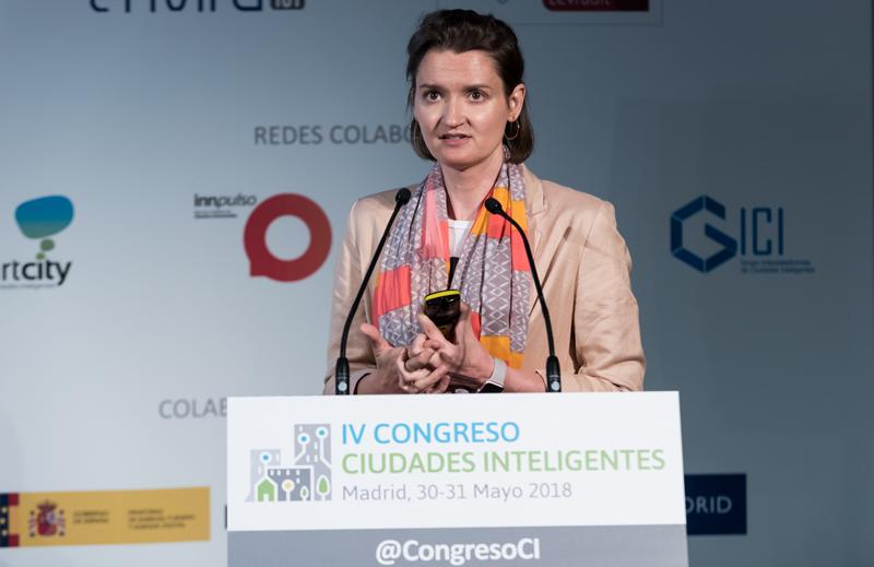 María Fernández, jefa de Proyectos de Investigación del Departamento de Energética Edificatoria de CENER.
