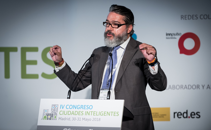 Borja Gutiérrez, alcalde de Alcobendas.