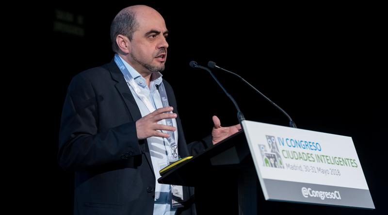 Eloy Gregorio Cuéllar, gerente de Ciudad del Ayuntamiento de Madrid.