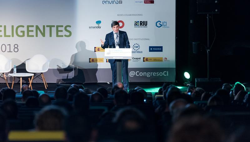 Enrique Martínez explicó objetivos, acciones y convocatorias del Plan Nacional de Territorios Inteligentes.