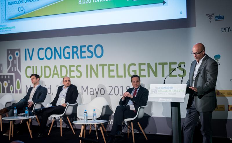 Pedro de Grado, del Ayuntamiento de Logroño, explicó las acciones 'smart' de su ciudad.