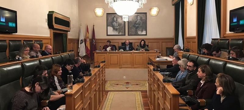Pleno del Concello de Santiago de Compostela.