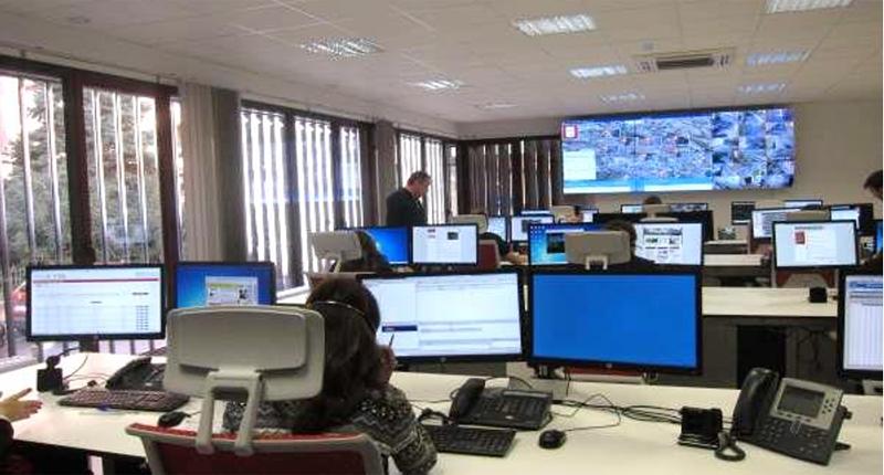 Figura 2. Imagen de la sala de operaciones del centro Smart Logroño