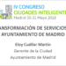 Transformación de servicios en el Ayuntamiento de Madrid