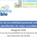 Gestor de accesibilidad peatonal urbana y planificador de viajes accesibles