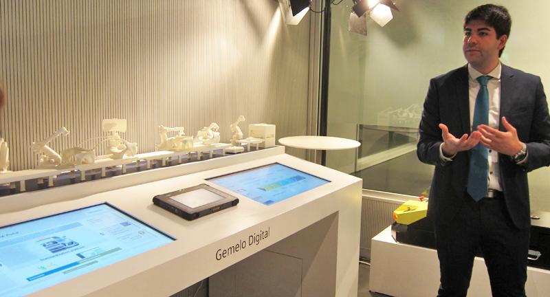 El Gemelo Digital es la tecnología que permite, mediante simulación virtual, recrear todos los pasos de la producción de un servicio o producto.