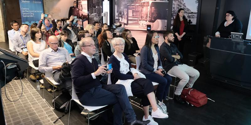 Reunión de los socios de SynchroniCity en Santander, donde se han ultimado algunos detalles de la convocatoria de proyectos y soluciones de IoT para servicios de ciudad, que estará abierta hasta el 30 de septiembre.
