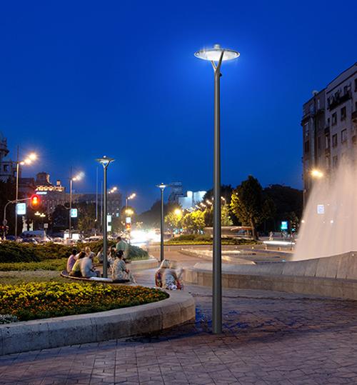 Para una mayor eficiencia energética y seguridad, las luminarias Oyo cuentan con tecnología LED y con prestaciones fotométricas.