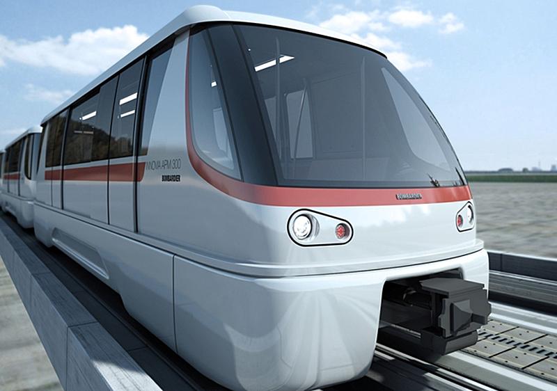 La línea de transporte automático sin conductor del Aeropuerto de Shenzen tendrá 18 vehículos autónomos.