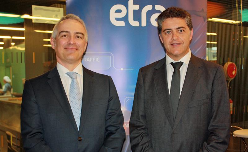 Antonio Marqués, director de Tecnología e Innovación de Grupo ETRA (zida) y Antonio Ortín, director general de ETRA Investigación y Desarrollo.