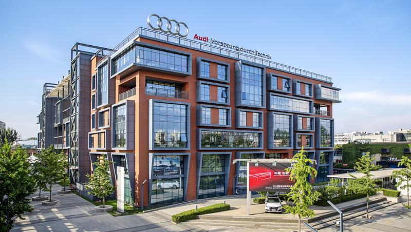 Exterior edificio Audi