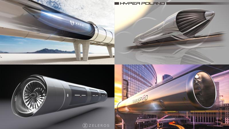 Zeleros y otras empresas que desarrollan Hyperloop, han firmado un acuerdo de colaboración para definir estándares internacionales comunes.