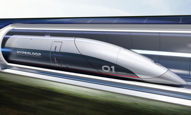 Hyperloop es una cápsula o vagón eficiente y limpio que traslada personas y mercancias a través de tubos al vacío.