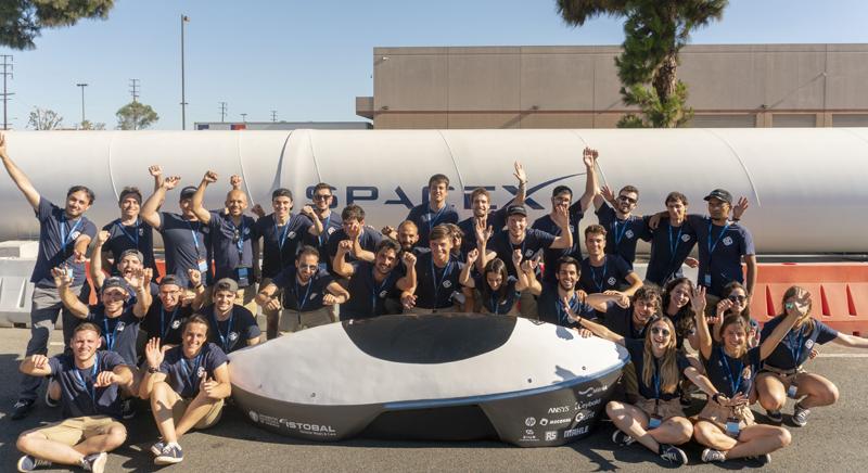 El equipo Hyperloop UPV obtuvieron la octava posición en la Hyperloop Pod Competition que organiza SpaceX en Los Ángeles.