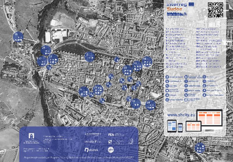 Figura 3. Escenario piloto SHCity, Ávila.