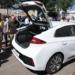 Un coche eléctrico para cada municipio de Badajoz y una red puntos de recarga inteligentes en la provincia