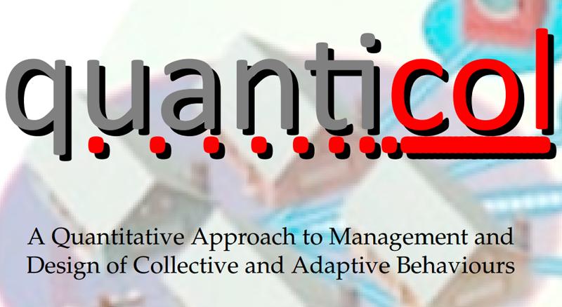 """""""Un enfoque cuantitativo para la gestión y el diseño de comportamientos colectivos y adaptativos (Quanticol)"""""""