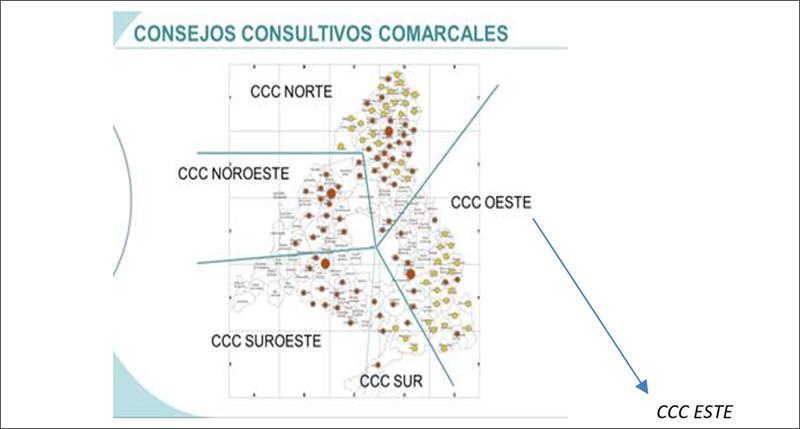 Consejos Consultivos Comarcales Proyecto MUNIN