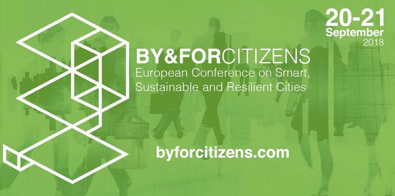 La conferencia By&Forcitizens tendrá lugar los días 20 y 21 de septiembre en Valladolid.